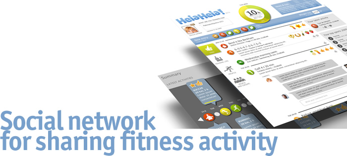 Social Network for sharing fitness activity