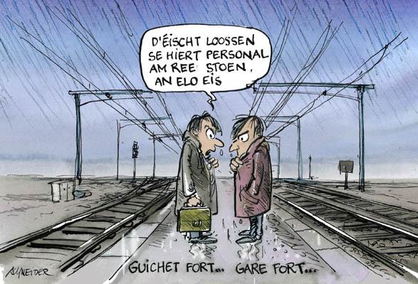 Eine kundenorientierte Eisenbahn braucht attraktive Bahnhöfe