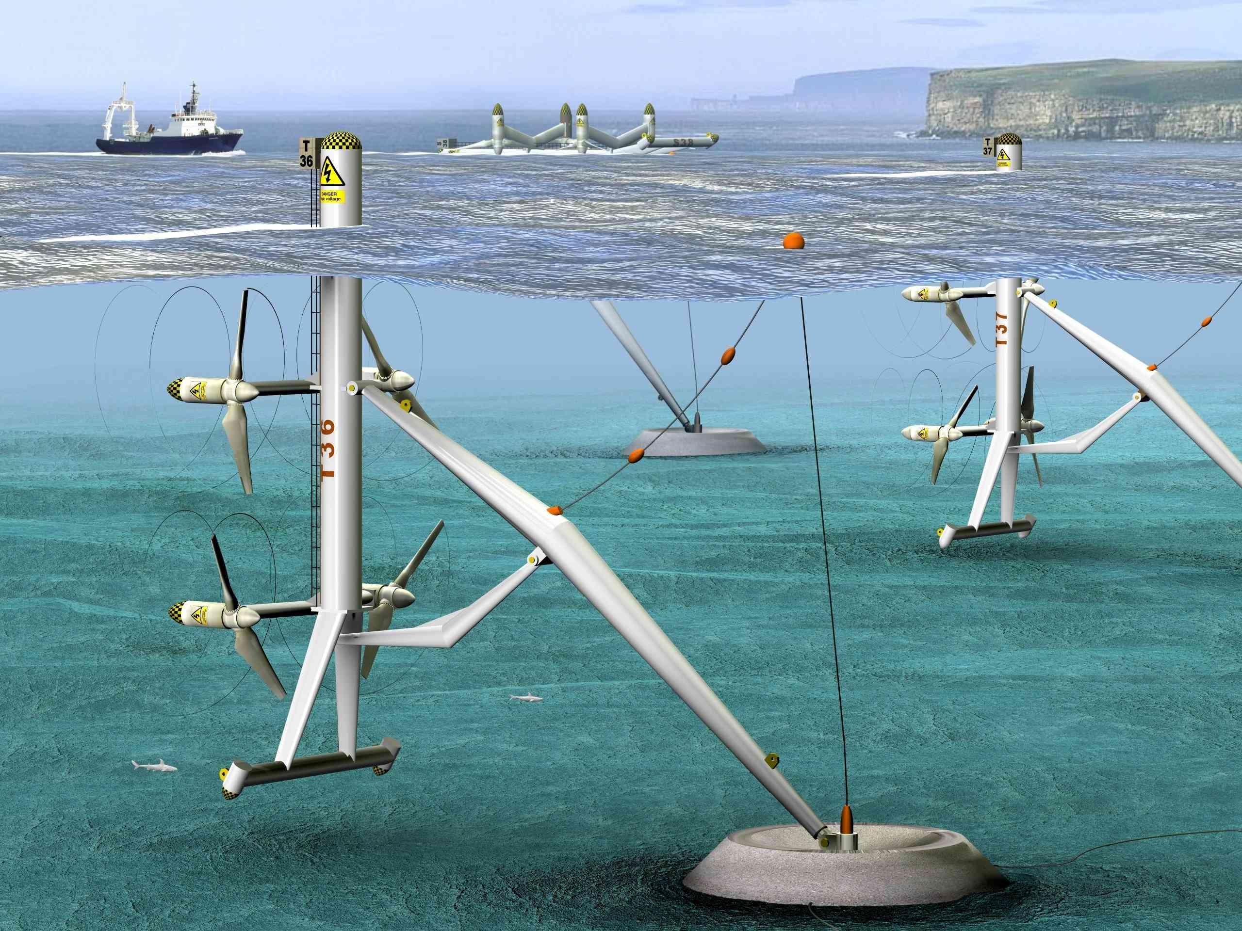 Onshore, Offshore oder gleich unter Wasser?