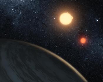 Exoplanet umkreist zwei Sonnen
