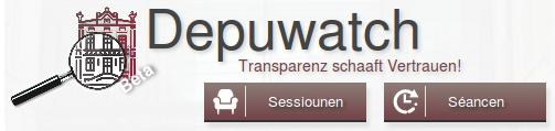 [Pressemitteilung] Piratenpartei und Politikercheck machen Chamber transparent mit Depuwatch.lu!