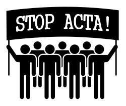Freiheit statt ACTA: StoppACTA-Demonstration am 9. Juni