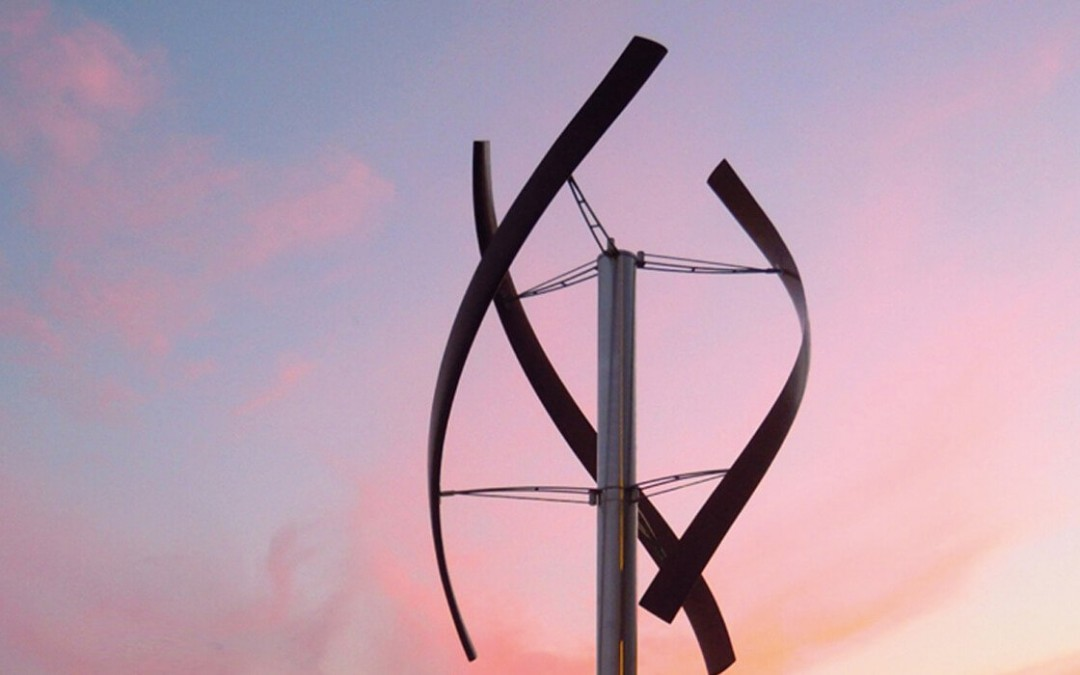 Smart wind turbines for family homes learn wind patterns