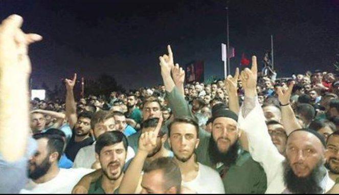 Anhänger Erdogans